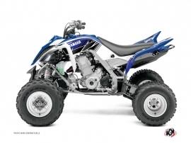 Kit Déco Quad Stripe Yamaha 660 Raptor Bleu