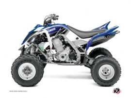 Kit Déco Quad Stripe Yamaha 700 Raptor Bleu
