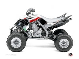 Kit Déco Quad Stripe Yamaha 700 Raptor Rouge