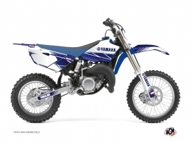 Kit Déco Moto Cross Stripe Yamaha 85 YZ Bleu Nuit