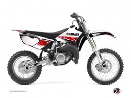 Kit Déco Moto Cross Stripe Yamaha 85 YZ Rouge