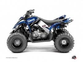 Kit Déco Quad Stripe Yamaha 90 Raptor Bleu