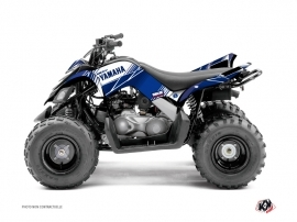 Kit Déco Quad Stripe Yamaha 90 Raptor Bleu Nuit