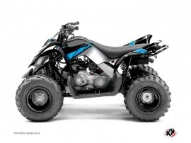 Kit Déco Quad Stripe Yamaha 90 Raptor Noir