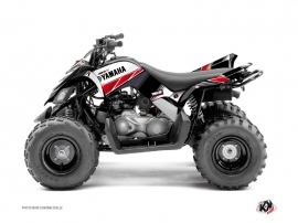 Kit Déco Quad Stripe Yamaha 90 Raptor Rouge