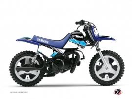 Kit Déco Moto Cross Stripe Yamaha PW 50 Noir