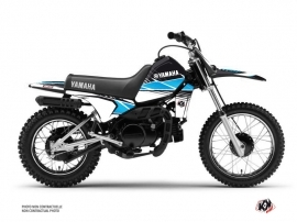 Kit Déco Moto Cross STRIPE Yamaha PW 80 Noir