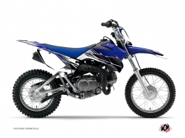 Yamaha TTR 110 Dirt Bike Stripe Graphic Kit Blue