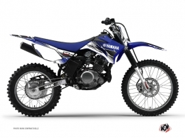 Kit Déco Moto Cross Stripe Yamaha TTR 125 Bleu