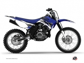 Kit Déco Moto Cross Stripe Yamaha TTR 125 Bleu