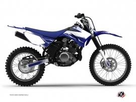 Kit Déco Moto Cross Stripe Yamaha TTR 125 Bleu Nuit