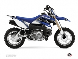 Kit Déco Moto Cross Stripe Yamaha TTR 50 Bleu