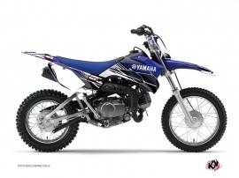 Kit Déco Moto Cross Stripe Yamaha TTR 90 Bleu