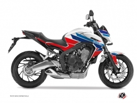 Kit Déco Moto Swift Honda CB 650 F Rouge Bleu