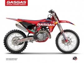 Kit Déco Moto Cross SX-K21 GASGAS MCF 250 Rouge