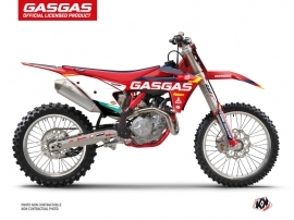 Kit Déco Moto Cross SX-K21 GASGAS MCF 450 Rouge