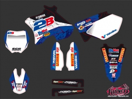 Yamaha 250 YZ Dirt Bike Replica Team 2b Graphic Kit 2013