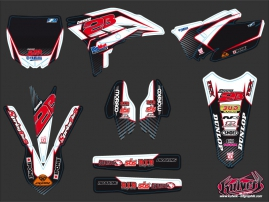 Yamaha 250 YZF Dirt Bike Replica Team 2b Graphic Kit 2010