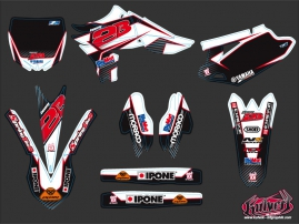 Kit Déco Moto Cross Replica Team 2b Yamaha 450 YZF 2010