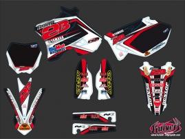 Yamaha 125 YZ Dirt Bike Replica Team 2b Graphic Kit Maxime DESPRES 2010
