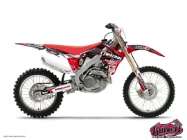 Kit Déco Moto Cross Honda 250 CRF Team Luc1 2012