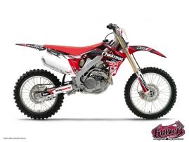 Kit Déco Moto Cross Replica Team Luc1 Honda 450 CRF 2012