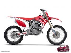 Kit Déco Moto Cross Replica Team Luc1 Honda 450 CRF 2015