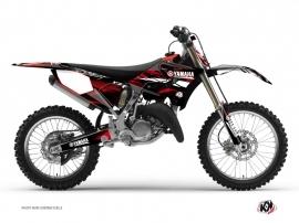 Yamaha 250 YZ Dirt Bike Techno Graphic Kit Red