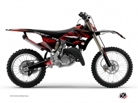 Yamaha 250 YZ Dirt Bike Techno Graphic Kit Red