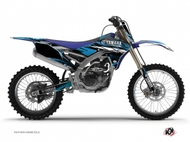 Kit Déco Moto Cross Techno Yamaha 250 YZF Bleu