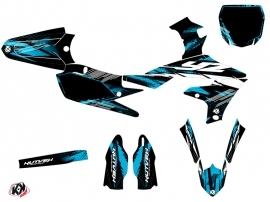 Yamaha 250 YZF Dirt Bike Techno Graphic Kit Blue