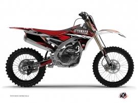 Kit Déco Moto Cross Techno Yamaha 250 YZF Rouge