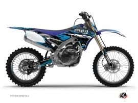 Kit Déco Moto Cross Techno Yamaha 450 YZF Bleu