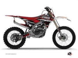 Kit Déco Moto Cross TECHNO Yamaha 450 YZF Rouge