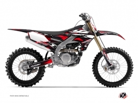 Kit Déco Moto Cross Techno Yamaha 450 YZF Rouge