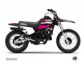 Kit Déco Moto Cross Techno Yamaha PW 80 Rose