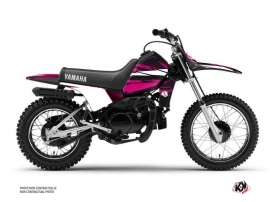 Kit Déco Moto Cross Techno Yamaha PW 80 Rose