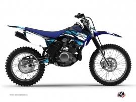 Kit Déco Moto Cross Techno Yamaha TTR 125 Bleu