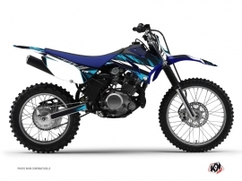 Kit Déco Moto Cross Techno Yamaha TTR 125 Bleu