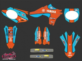 Kit Déco Moto Cross Replica Thomas Allier Yamaha 450 YZF 2011