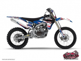 Kit Déco Moto Cross Yamaha 450 YZF Thomas Allier - 2012