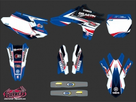 Kit Déco Moto Cross Replica Thomas Allier Yamaha 450 YZF 2012