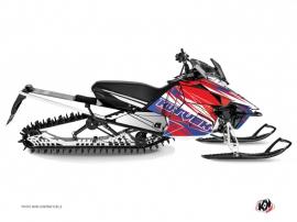 Kit Déco Motoneige Torrifik Yamaha SR Viper Bleu Rouge