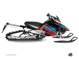 Kit Déco Motoneige Torrifik Yamaha SR Viper Rouge Bleu