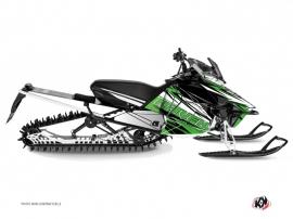 Kit Déco Motoneige Torrifik Yamaha SR Viper Vert Noir