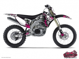 Kawasaki 250 KX Dirt Bike Trash Graphic Kit