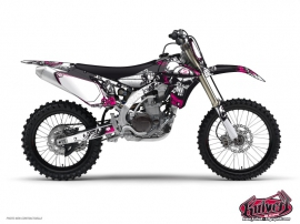 Kit Déco Moto Cross Trash Yamaha 250 YZ Rouge
