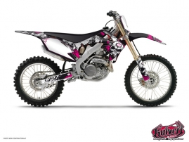 Honda 125 CR Dirt Bike Trash Graphic Kit
