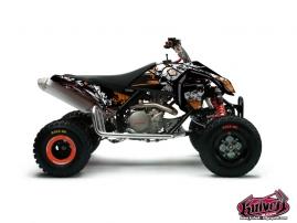 Kit Déco Quad Trash KTM 450 - 525 SX Noir - Orange