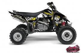 Kit Déco Quad Trash Suzuki 450 LTR Noir Jaune